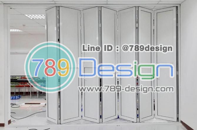 บริษัท Faurecia and Summit Interior Systems  งานบานเฟี้ยมระยอง 2 ชุดใหญ่ กว้าง 6.50 x 3.20 cm